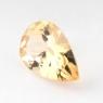 Данбурит формы груша, вес 1.5 карат, размер 10.2х6.5мм (danburit0022)