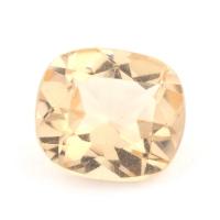 Золотистый данбурит формы антик, вес 1.2 карат, размер 7.3х6.5мм (danburit0026)