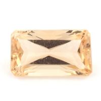 Золотистый данбурит формы октагон, вес 1.16 карат, размер 8.6х4.9мм (danburit0031)