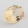 Золотистый данбурит формы овал, вес 1.43 карат, размер 9х6.6мм (danburit0034)