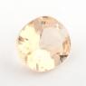 Золотистый данбурит формы овал, вес 1.02 карат, размер 7.5х6.5мм (danburit0036)