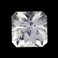 Бесцветный данбурит формы квадрат, вес 1.98 карат, размер 7.4х7.4мм (danburit0041)