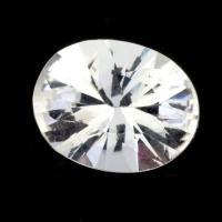 Бесцветный данбурит формы овал, вес 1.61 карат, размер 9.3х7.4мм (danburit0046)
