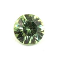 Гранат демантоид формы круг, вес 0.28 карат, размер 4х4мм (dem0053)