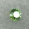 Уральский гранат демантоид формы круг, вес 0.24 карат, размер 3.7х3.7мм (dem0061)
