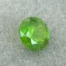 Уральский гранат демантоид формы круг, вес 0.53 карат, размер 4.5х4.5мм (dem0062)