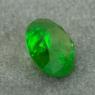 Уральский гранат демантоид формы круг, вес 1.07 карат, размер 6.1х6.1мм (dem0066)