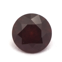 Гранат (пироп-альмандин) круг вес 2.2 карат, размер 8х8мм (garnet0034)