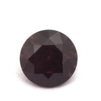 Гранат (пироп-альмандин) круг вес 1.52 карат, размер 7.1х7.1мм (garnet0036)