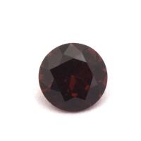 Гранат (пироп-альмандин) круг вес 0.93 карат, размер 6.1х6.1мм (garnet0037)