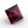 Гранат пироп-альмандин квадрат, вес 4.48 карат, размер 8.3х8.3мм (garnet0041)