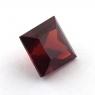 Гранат пироп-альмандин квадрат, вес 3.45 карат, размер 7.7х7.7мм (garnet0042)