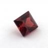 Гранат пироп-альмандин квадрат, вес 1.93 карат, размер 6.2х6.2мм (garnet0043)