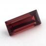 Гранат пироп-альмандин багет, вес 3.1 карат, размер 12.1х5.1мм (garnet0044)