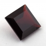 Гранат пироп-альмандин квадрат, вес 13.95 карат, размер 14х14мм (garnet0049)