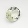 Зеленый кварц (зелёный аметист, празиолит) овал средний вес 3.97 карат, размер 12х10мм (gquartz0028)
