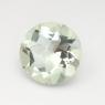 Зеленый кварц (зелёный аметист, празиолит) круг средний вес 4.25 карат, размер 12х12мм (gquartz0031)