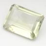 Зеленый кварц (зелёный аметист, празиолит) октагон средний вес 14.5 карат, размер 18х13мм (gquartz0033)
