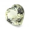 Зеленый кварц (празиолит) сердце размер 15х15мм (gquartz0035)