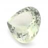 Зеленый кварц (празиолит) сердце размер 16х16мм (gquartz0036)