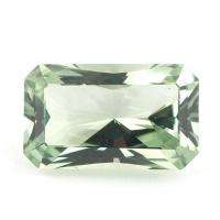 Зелёный кварц отличной огранки октагон, вес 15.89 карат, размер 20.3х12.2мм (gquartz0042)