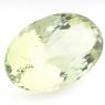 Зелёный кварц (зелёный аметист, празиолит) овал, вес 62.25 карат, размер 33.6х21.4мм (gquartz0044)