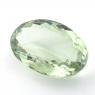 Зелёный кварц (зелёный аметист, празиолит) овал, вес 37.4 карат, размер 29.3х18.9мм (gquartz0055)