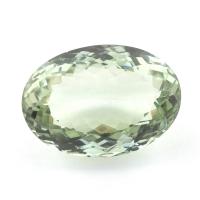 Зелёный кварц (зелёный аметист, празиолит) овал, вес 40.45 карат, размер 26х18мм (gquartz0056)