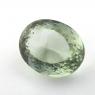 Зелёный кварц (зелёный аметист, празиолит) овал, вес 38.81 карат, размер 23.9х19мм (gquartz0057)