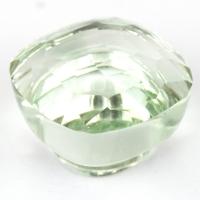 Зеленый кварц (празиолит) огранки гриб, вес 9.8 карат, размер 12.4х12.4мм (gquartz0062)