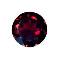 Гранат (пироп, альмандин) круг диаметр 12мм