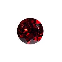 Гранат (пироп, альмандин) круг диаметр 7мм