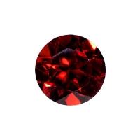Гранат (пироп, альмандин) круг диаметр 8мм