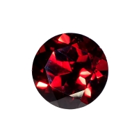 Гранат (пироп, альмандин) круг диаметр 9мм