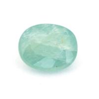 Зеленовато-голубой грандидьерит овал, вес 1.04 карат, размер 7.5х6.1мм (grand0004)