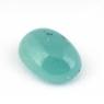 Зеленовато-голубой грандидьерит кабошон овал, вес 1.74 карат, размер 8.9х6.4мм (grand0012)