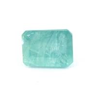 Зеленовато-голубой грандидьерит октагон, вес 1.44 карат, размер 7.1х5.3мм (grand0020)