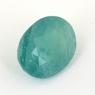 Зеленовато-голубой грандидьерит овал, вес 5.48 карат, размер 12.6х10.1мм (grand0025)