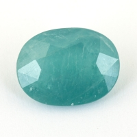 Тёмный сине-зелёный грандидьерит овал, вес 5.13 карат, размер 13х9.9мм (grand0028)