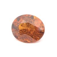 Гранат гессонит овал вес 1.69 карат, размер 8.3х7мм (hess0039)