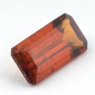 Коричневато-оранжевый гранат гессонит формы октагон, вес 1.65 карат, размер 9.7х5.2мм (hess0047)