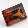 Коричневато-оранжевый гранат гессонит формы багет, вес 2.88 карат, размер 9.4х6.5мм (hess0049)