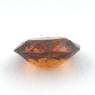 Коричневато-оранжевый гранат гессонит формы овал, вес 1.26 карат, размер 7.8х6.5мм (hess0050)
