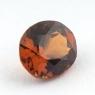 Коричневато-оранжевый гранат гессонит формы овал, вес 1.62 карат, размер 7.8х6.6мм (hess0051)