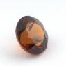 Коричневато-оранжевый гранат гессонит формы круг, вес 1.4 карат, размер 6.8х6.8мм (hess0056)