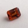 Коричневато-оранжевый гранат гессонит формы октагон, вес 1.59 карат, размер 7х5.2мм (hess0060)
