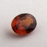 Коричневато-оранжевый гранат гессонит формы овал, вес 1.73 карат, размер 8.4х6.6мм (hess0062)