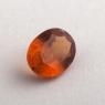 Коричневато-оранжевый гранат гессонит формы овал, вес 1.44 карат, размер 8.1х6.1мм (hess0063)