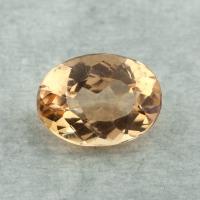 Золотистый топаз империал формы овал, вес 1.92 карат, размер 8.9х6.6мм (imperial0116)