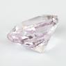 Бледно-розовый кунцит отличной российской огранки антик, вес 7.98 карат, размер 12.3х10.1мм (kunzite0082)